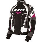 Women's Black/Charcoal/White/Fuchsia Adrenaline Jacket - 170210-1008-10S