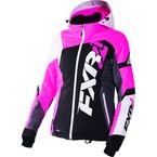 Women's Black/Electric Pink/White Tri Revo X Jacket - 170216-1094-10