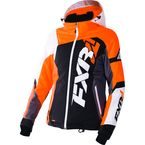 Women's Black/Electric Tangerine/White Tri Revo X Jacket - 170216-1035-10