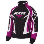 Women's Black/Fuchsia/White Team Jacket - 170208-1090-20