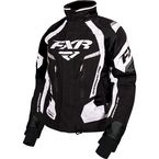 Women's Black/White Adrenaline Jacket - 170210-1001-10