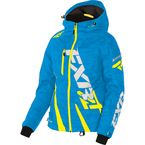 Women's Blue Digi/Hi-Vis Boost Jacket - 170204-4165-10