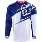 Navy/White GP Air Flexion Jersey - 304015314