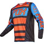Black/Orange 180 Falcon Jersey - 17255-016-M