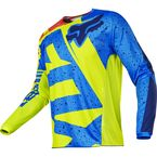 Youth Yellow/Blue 180 Nirv Jersey - 17267-586-L