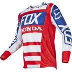 Red/White 180 Honda Jersey - 17263-054-L