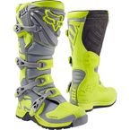 Youth Yellow/Gray Comp 5 Boots - 16449-063-3