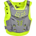Yellow/Gray Proframe LC Roost Deflector - 13577-063-L/XL