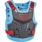 Blue/Red Proframe LC Roost Deflector - 13577-149-L/XL