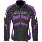 Women's Black/Purple Survivor Jacket - 1615-084