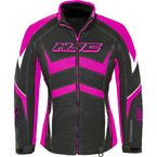 Women's Black/Pink Survivor Jacket - 1615-094