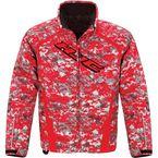 Red Camo Storm Jacket - 1617-124