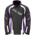 Women's Black/Purple Storm Jacket - 1619-082