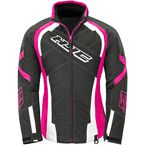 Women's Black/Pink Storm Jacket - 1619-094