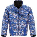 Youth Blue Camo Storm Jacket - 1621-124