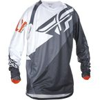 Black/White/Orange Evolution 2.0 Jersey - 370-220L