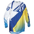 Blue/Yellow/White Evolution 2.0 Jersey - 370-221M