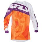 Orange/Purple Kinetic Crux Jersey - 370-527M