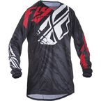 Black/Red Kinetic Relapse Jersey - 370-420S