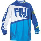 Youth Blue/Hi-Vis F-16 Jersey - 370-921YM