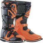 Youth Orange Maverik Boots - 364-56901