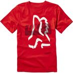 Youth Flame Red Kamakana T-Shirt - 20036-122-YL