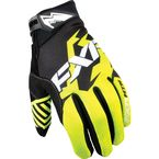 Black/Hi-Viz Elevation Lite Gloves - 13630.70113