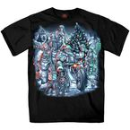 Black Christmas Crew T-Shirt - GMS1363L