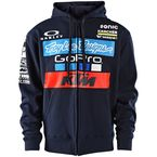 Navy 2017 Team KTM Zip-Up Hoody - 730505374