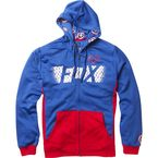 Blue Marvel Captain America Zip Hoody - 20237-002-M