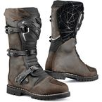 Vintage Brown Drifter Waterproof Boots - 7160W-MORO-45