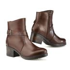 Women's Vintage Brown X-Boulevard Waterproof Boots - 8050W MORO 36