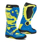 Royal Blue/Yellow Fluorescent Comp EVO Michelin Boots - 9661-ROYF-46
