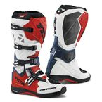 White/Red/Blue Comp EVO Michelin Boots - 9661 BIRB 44