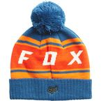 Dusty Blue Black Diamond Pom Beanie - 19778-157-OS