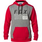Dark Red District 3 Pullover Hoody - 19692-208-L