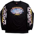 Black 2017 Sturgis Uncle Sam Racer Long Sleeve Shirt - SPM2585L