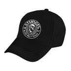 Black 2017 Sturgis Stitches Ball Cap - SPA4219