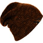 Orange Heather Oversized Beanie - 509-HAT-OVB9