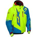 Process Blue/Hi-Vis Stance Jacket - 70-6538