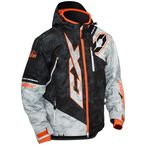Alpha Black/Alpha Gray/Orange Stance Jacket - 70-6556