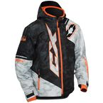 Youth Alpha Black/Orange Stance Jacket - 72-6352