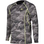 Camo Gray/Black Aggressor 2.0 Base Layer Shirt - 3198-002-140-600