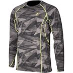 Camo Gray Aggressor 3.0 Base Layer Shirt - 3861-000-140-600