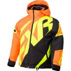 Child's Orange/Black/Hi-Vis  CX Jacket - 180415-3010-02