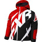 Child's Red/Black/White Weave CX Jacket - 180415-2010-06