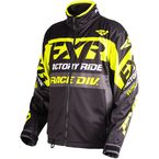 Black/Hi-Vis/Charcoal Cold Cross Race Ready Jacket - 180032-1065-10