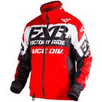 Red/Black/White Cold Cross Race Ready Jacket - 180032-2010-10