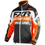 Orange/Black/White Cold Cross Race Ready Jacket - 180032-3010-10
