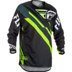 Black/Hi-Vis Evolution 2.0 Jersey - 371-220S